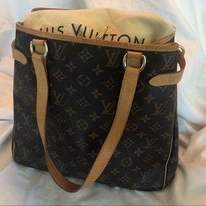 Louis Vuitton vertical Batignolles bag